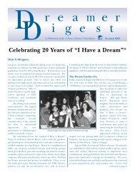 Dreamer Digest - Summer 2001 -
