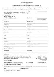 Anmeldung / Nennung 1. Oldenburger Concours d´Elegance am 13 ...