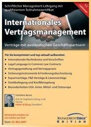 Management Circle Schriftlicher Lehrgang ... - Hohmann