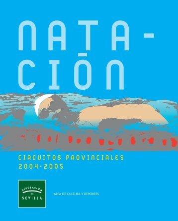circuitos provinciales 2004-2005 - Diputación de Sevilla