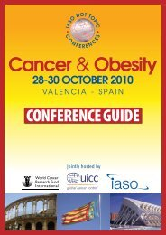 conference guide - International Association for the Study of Obesity