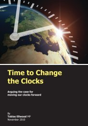 Time to Change the Clocks - ConservativeHome