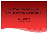 Download Presentation - North Carolina Quality Center