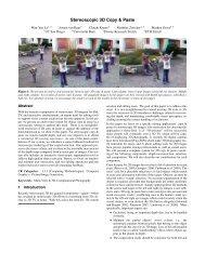 Stereoscopic 3D Copy & Paste - Disney Research