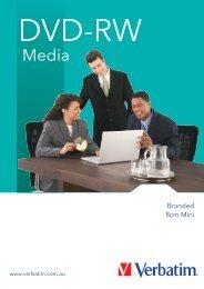 DVD RW media - Verbatim