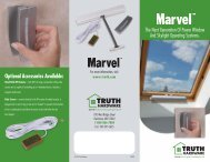 Marvel Power Window System - Truth Hardware