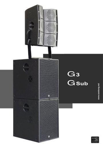 G3-/G-Sub Katalog - Seeburg  acoustic line