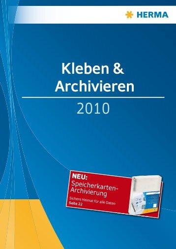 Kleben & Archivieren 2010 - hibiag