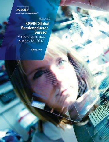KPMG Global Semiconductor Survey