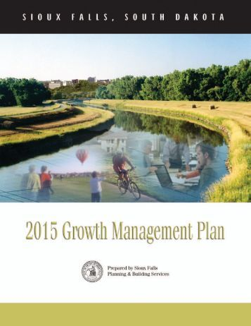 Sioux Falls SD Growth Management Plan 2003 - City of Columbia ...