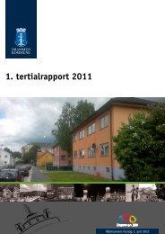 1. tertialrapport 2011 - Drammen kommune