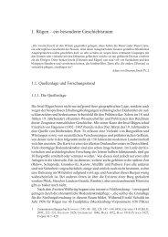 1. Rügen – ein besonderer Geschichtsraum - Franz Steiner Verlag