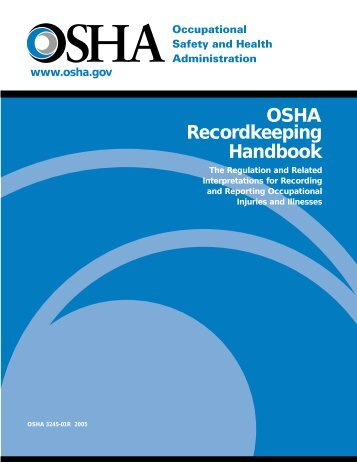 OSHA Recordkeeping Handbook - denix