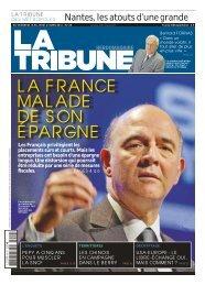 LA FRANCE MALADE DE SON ÉPARGNE - La Tribune