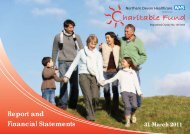 Charitable Funds Annual Report 2010-11 - Northern Devon ...