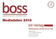 boss Mediadaten 2013