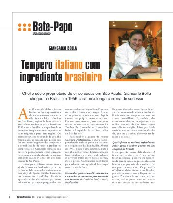 Bate-Papo - Cozinha Profissional