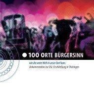100 Orte Bürgersinn - E.ON Thüringer Energie AG