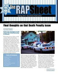 Final thoughts on that Death Penalty issue - Metropolitan Alliance of ...