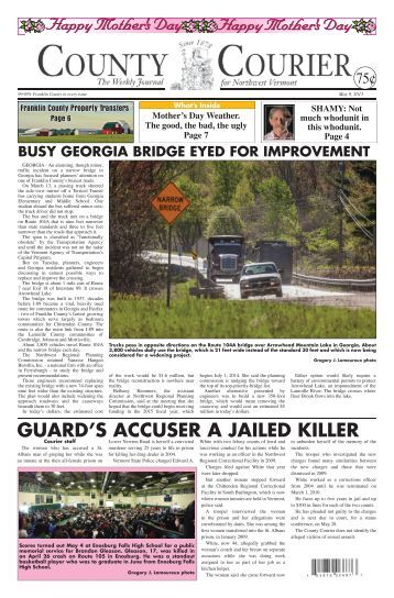 GUARD'S ACCUSER A JAILED KILLER - The County Courier