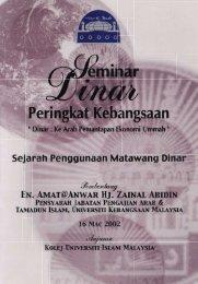 Sejarah Penggunaan Matawang Dinar.pdf - USIM