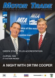 A NIGHT WITH DR TIM COOPER - MTA