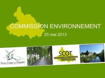 Présentation du 23 mai 2013 - Pays Cœur de Flandre