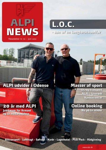 ALPI NEWS