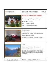 Email: info@cki.ch - CK Interieur & Immobilien