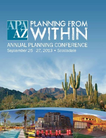 Download Full Brochure - Arizona Planning Association