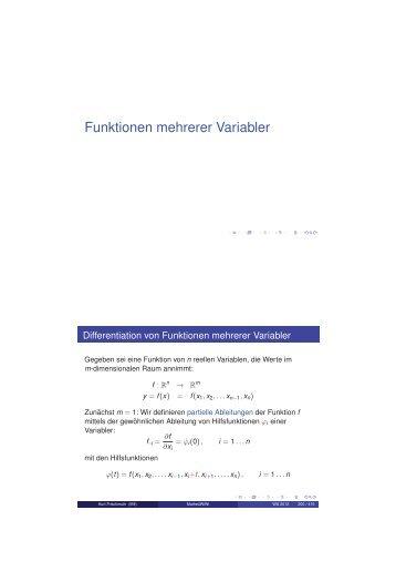 Vorlesung im Wintersemester 2012