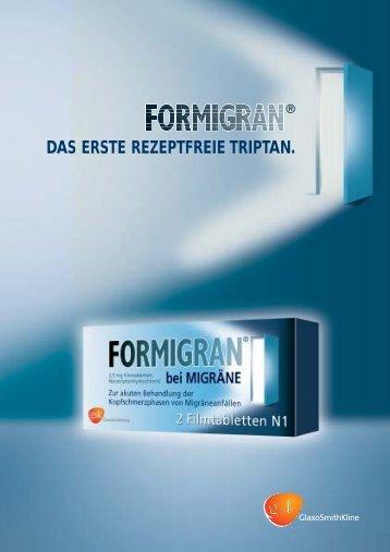 DAS ERSTE REZEPTFREIE TRIPTAN. - Pharma24