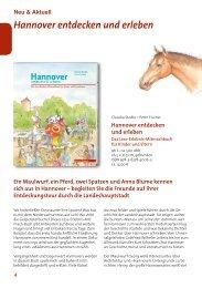 Hannover entdecken und erleben