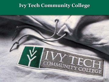 State Advising Model - Ivy Tech Community College
