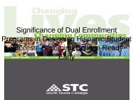 Significance of Dual Enrollment Programs in Designing ... - AACRAO