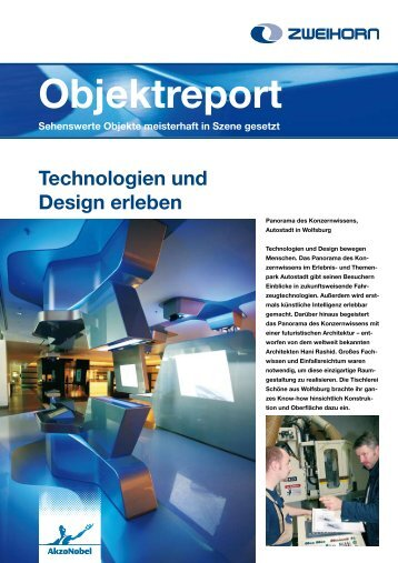 Technologien und Design erleben - Zweihorn