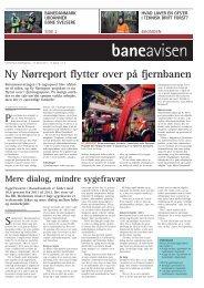 Ny Nørreport flytter over på fjernbanen - Banedanmark