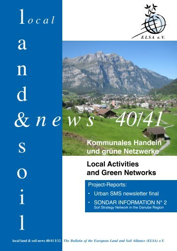 o c a l - European Land and Soil Alliance (ELSA)