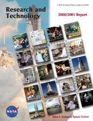 2000-2001 - Kennedy Space Center Technology Transfer Office