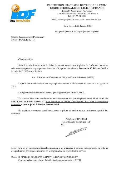 Federation Francaise De Tennis De Table Ligue