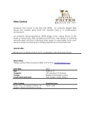 Frites Central - Dutch Chamber of Commerce in Hong Kong