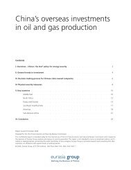 China's overseas investments in oil and gas production - U.S.-China ...