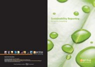 Sustainability Reporting by Centre Consulting