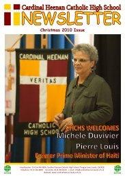 School Newsletter Christmas 2010 - Cardinal Heenan Catholic High ...