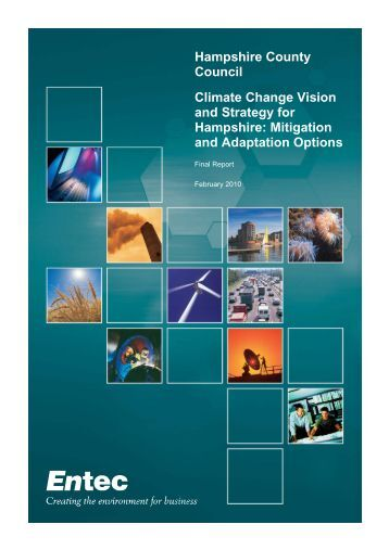 Mitigation and Adaptation Options - Hampshire County Council