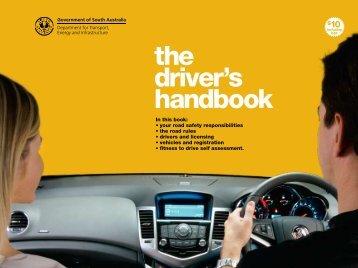 the driver's handbook - driving school Adelaide