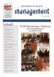 KM digital Nr. 4 - Fachverband der leitenden Gemeindebediensteten ...
