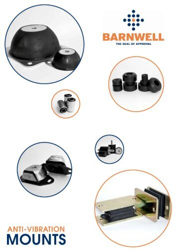 Anti Vibration Mount Brochure (PDF Format) - M Barnwell Services Ltd