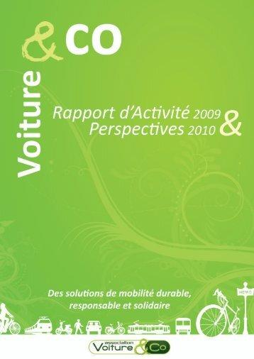 Voiture & Co : le programme pour 2010 - Kiagi.org