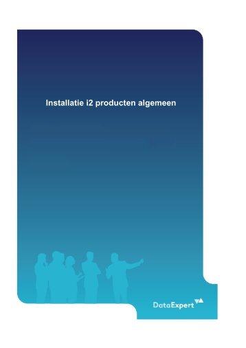 Installatie i2 Analysis Suite algemeen v8.pdf - DataExpert